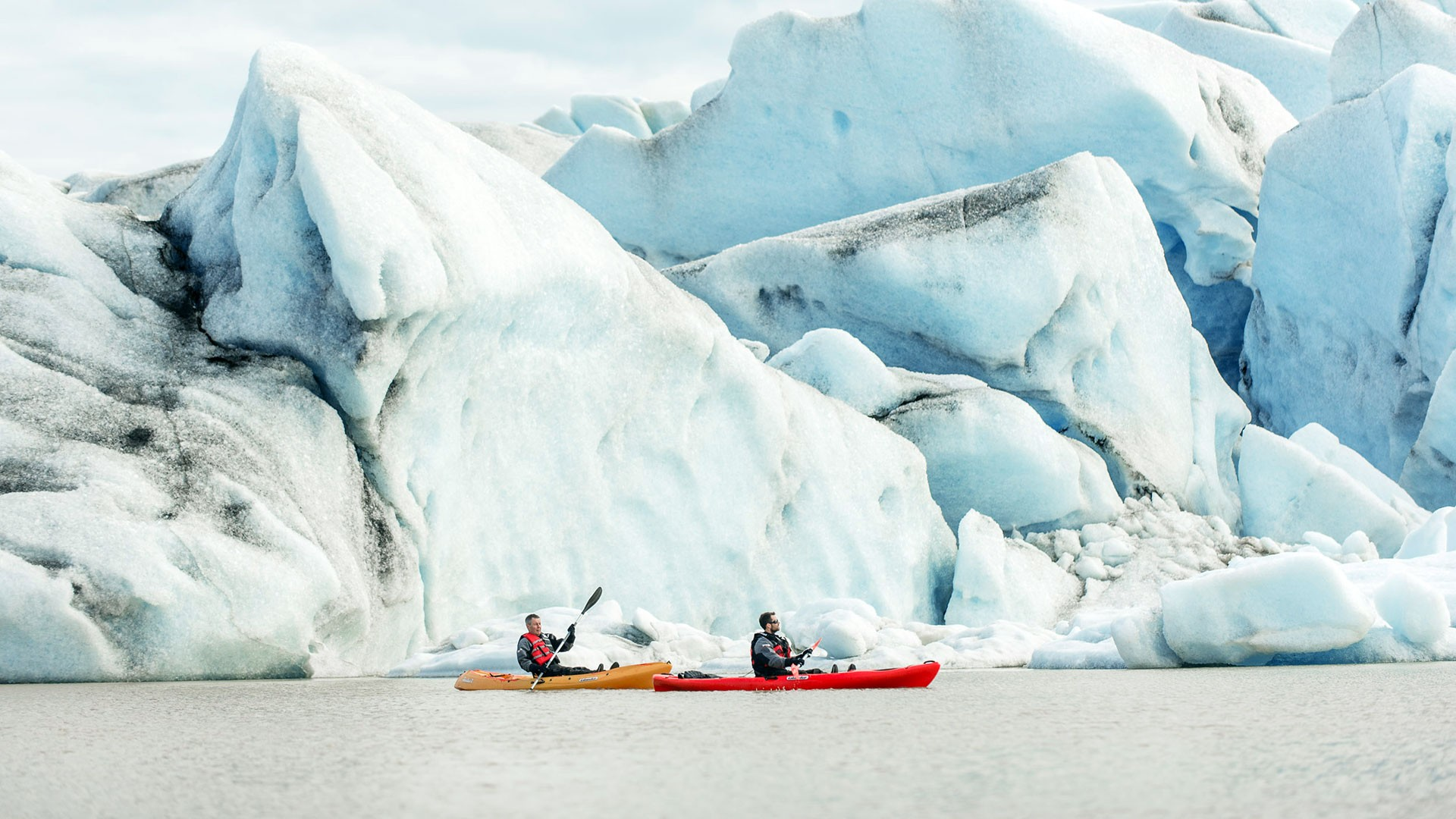 Glacier Kayaking