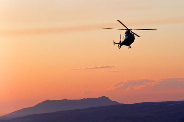 Helicopter Happy Hour