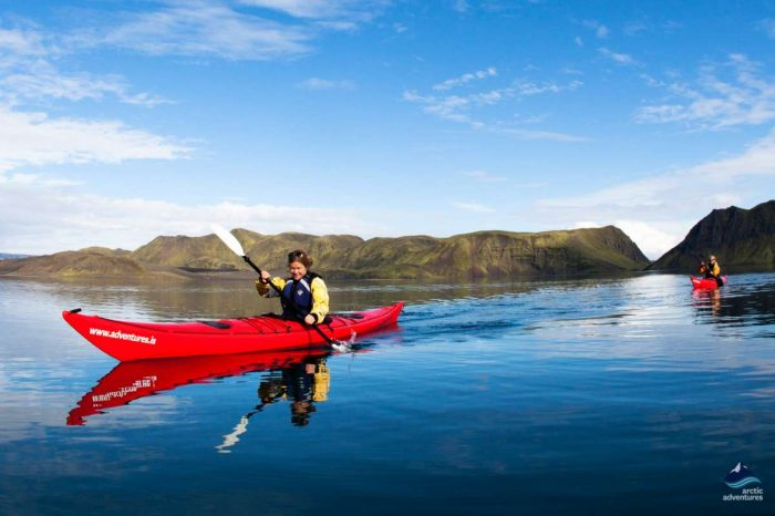 Sea Kayaking – Fjord Scenery