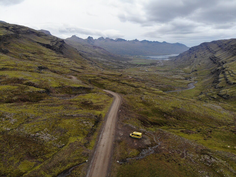 Eastfjords in Iceland, road trip in east Iceland, Happy Campers